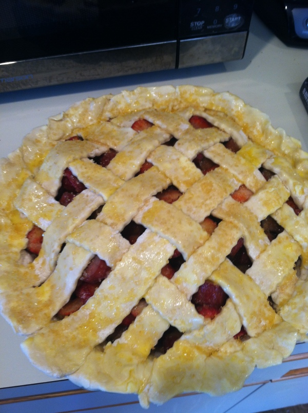 pie ready to go into the oven