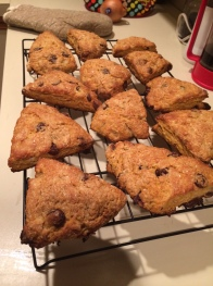 A King Arthur flour recipe made on a wim on a Tuesday night. Just because.