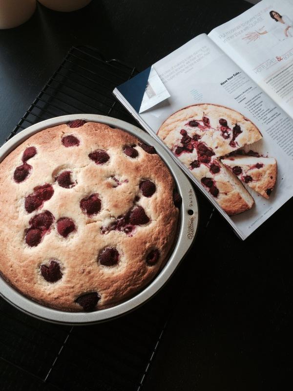 Bon Appetit_Raspberry Ricotta Cake